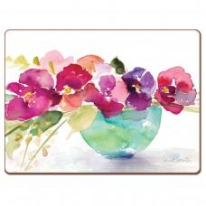 "Cala Home Podkładki korkowe 81795 ""Bowl of Blooms"""