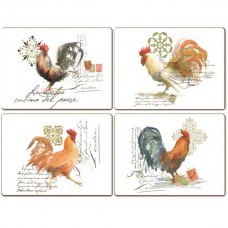 "Cala Home Podkładki korkowe 81704 ""rooster"""