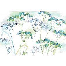 """Cala Home Podkładki na stół - matowe, przezroczyste C43372 """"wildflowers"""""""