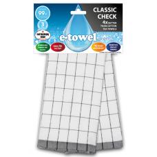 E-cloth ściereczka z mikrofibry i bawełny do kieliszków Black CC E20690