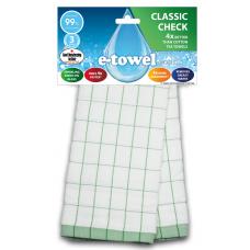 E-cloth ściereczka z mikrofibry i bawełny do kieliszków Green CC E20168
