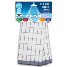 E-cloth ściereczka z mikrofibry i bawełny do kieliszków Blue CC E20167