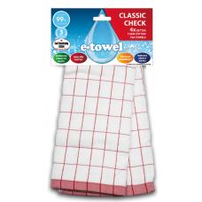 E-cloth ściereczka z mikrofibry i bawełny do kieliszków Red CC E20169