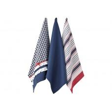 Ladelle Anneliese komplet trzech ręczników kuchennych L32224