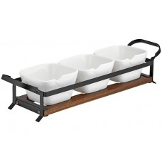 Ladelle Eat Well stojak na stół do serwowania przekąsek L61509