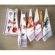 Lasa Portugal Ręcznik kuchenny 216 1 67 Frutos Blueberry col.42