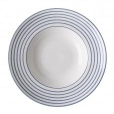 Laura Ashley 27,5 cm głęboki talerz porcelanowy do spaghetti W182772 Candy Stripe