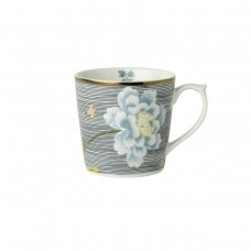 Laura Ashley Heritage kubek porcelanowy W180417 Midnight Pinstripe 0,24 l.
