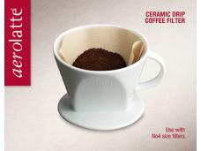 Dripper porcelanowy do kawy i herbaty Aerolatte 4