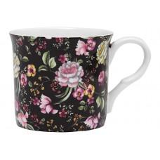 """Ashdene Kubek porcelanowy 17114 """"hebanowe róże"""""""