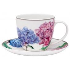 """Ashdene Filiżanki porcelanowe do herbaty 17182 """"pastelowe hortensje"""""""