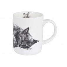 "Ashdene Kubek porcelanowy 17028 ""Casual Cats - Sleeping"""