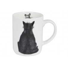 "Ashdene Kubek porcelanowy 17027 ""Casual Cats - Watching"""