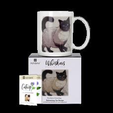 """Ashdene Kubek porcelanowy 16942 """"kot whiskers penelope"""""""