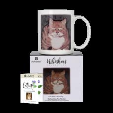 """Ashdene Kubek porcelanowy 16944 """"kot whiskers jack"""""""