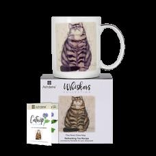 """Ashdene Kubek porcelanowy 16945 """"kot whiskers ollie"""""""
