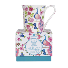 "Ashdene Kubek porcelanowy 16957 ""madame butterfly rose"""