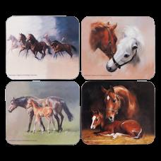 """Ashdene Podkładki korkowe małe 18934 """"konie2"""""""