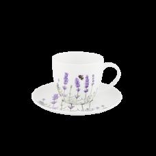 """Ashdene Filiżanki porcelanowe do herbaty 15614 """"lawenda"""""""