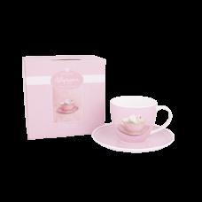 """Ashdene Filiżanki porcelanowe do herbaty 16329 """"łabędź"""""""