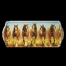 """Ashdene Taca duża podłużna 89678 """"konie"""""""