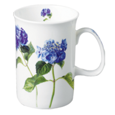 "Ashdene Kubek porcelanowy 15817 ""niebieska hortensja"""