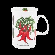 "Ashdene Kubek porcelanowy 16081 ""kwiaty NZ - kakabeak"""