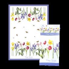 """Ashdene Ręcznik kuchenny 40085 """"przydomowy ogród"""""""